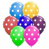 28 Adet Puantiyeli Karışık Balonlar