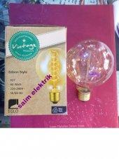 20 Adet Edison Style Rustik Lamba 60w E27 A95 Glob