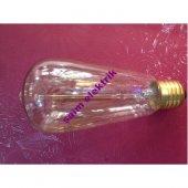 10 Adet Edison Style Rustik Lamba 40w E27 St 64