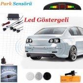 Led Ekran Ve Türkçe İkazlı Park Sensörü Oto Park S...
