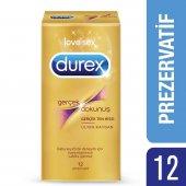 Durex Gerçek Dokunuş Ultra Kaygan Prezervatif, 12li