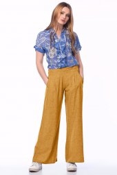 Bayan Salaş Pantolon 2017 Yaz Modası