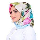 Silk Home Eşarp Tivil İpek Desenli Slk1399