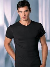 şahinler Erkek Likralı V Yaka Atlet Tişört T Shirt