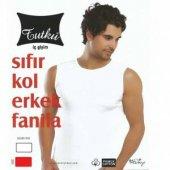 Tutku 3lü Paket Erkek Sıfır Kol Fanila Gri