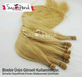 1. Kalite Dore Sarı Boncuk Kaynak Saç 0,8gr 60 65cm