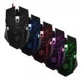 Frisby Fm G3270k Kablolu Macro Gaming Oyuncu Mouse + Mouse Pad Hediyeli Renk Değiştiren Işıklar