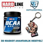 Hardline Bcaa 4 1 1 300 Gr. + 3d Maskot Anahtarlık Hediyeli
