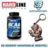Hardline Bcaa 4 1 1 Atb6 120 Tablet + 3d Maskot Anahtarlık Hediye