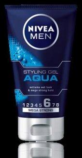 Nivea Aqua (Erkek) Islak Görünüm Veren Jöle 150 Ml