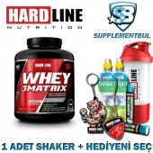 Hardline Whey 3matrix Çilek 2300 Gr. + 1 Shaker + Hediyeni Seç