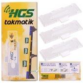 Hgs Etiket Kabı (Hgs Takmatik) (3 Adet)