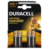 Duracell Alkaline İnce Kalem Pil Aaa 4lü Paket Lr0...