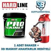 Hardline Progainer Muz 5000 Gr. + 1 Shaker + 1 3d Maskot Anahtarl