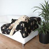 Trixie Köpekler İçin Polar Köpek Battaniyesi 150x100cm Siyah Bej