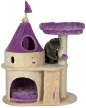 Trixie Kedi Tırmalama Tahtası Ve Oyun Kalesi 90 Cm, Bej Lila