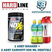 Hardline Nox2 Karadut 1090 Gr. + 1 Shaker + 2 Carnifit 500 Ml Hed