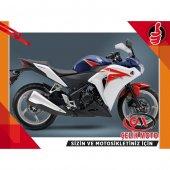 Honda Cbr 250 Kaporta Grenaj Setı Mavı Beyaz Hrc 2012 #199 10700 10