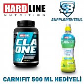 Hardline Cla One 100 Kapsül + Carnifit 500 Ml Hediyeli