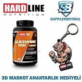 Hardline Glucosamine Msm 120 Tablet + 3d Maskot Anahtarlık Hediye