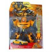 Dönüşebilen Transformers Bumblebee Oyuncak Robot Araba
