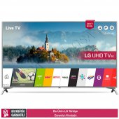 Lg 43uj651v 108 Ekran Webos 3.5 Dahili Uydu Smart Led Tv
