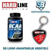 Hardline Bcaa 4 1 1 Atb6 120 Tablet + 3d Logo Anahtarlık Hediyeli