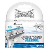 Wilkinson Sword Quattro Titanium 4 Yedek Kartuş