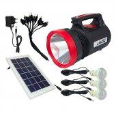 Everton Rt 906 Radyolu 3 Ampullü Çok Amaçlı Solar Fener