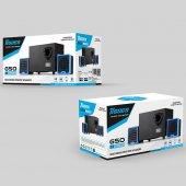 Yeni Tigoes G50 Ucuz 2+1 Ac Speaker Ekstra Ses İçin Fazla Ödeme
