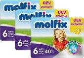 Molfix Bebek Bezi Dev Pk 3li Set No 6exra Large 15+kg Top 120 Ade