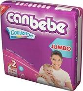 Canbebe 2 Beden Mini 3 6 Kg 72 Li 2 Paket Bebek Bezi 144 Adet