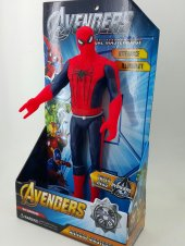 Spiderman Figürü 33 Cm Sesli Işıklı
