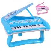 Oyuncak Ayaklı Mini Piyano 2 Farklı Renk
