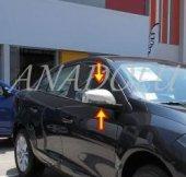 Renault Fluence Krom Ayna Kapağı 2 Parça 2010 Üzer...