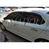 Peugeot 301 Krom Cam Çıtası 4 Parça 2012 Üzeri...