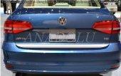 Volkswagen Jetta Formlu Krom Bagaj Alt Çıtası 2014...
