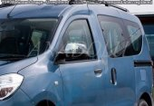 Dacia Dokker Krom Ayna Kapağı 2 Parça Paslanmaz Çelik