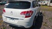 Citroen C4 Formlu Krom Bagaj Alt Çıtası Paslanmaz Çel 2010 Üzeri