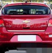 Chevrolet Aveo Sedan Formlu Krom Bagaj Alt Çıtası 2012 Üzeri