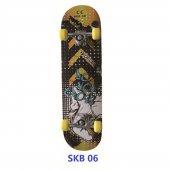 Delta Çok Renkli Skateboard Silikon Kaykay Skb06