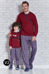 Roly Poly 10 16 Yaş Uçaklı Garson Boy Erkek Çocuk Pijama Takımı