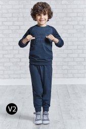 Roly Poly 10 14 Yaş Manşetli Garson Boy Erkek Çocuk Eşofman Takım