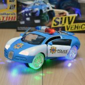 Bugatti Işıklı Sesli Polis Arabası