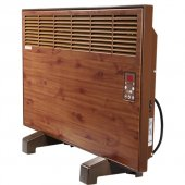 Vigo Dijital 2500 Watt Ahşap Elektrikli Panel Konvektör Isıtıcı Epk4590e25a