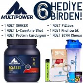 Multipower Bcaa Powder 400 Gr. Cherry Bomb 6 Hediye