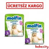 Molfix Bebek Bakım Örtüsü Alt Açma Bezi 2 Adet