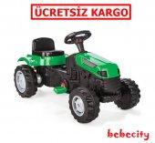 Pilsan Pedallı Traktör Yeşil