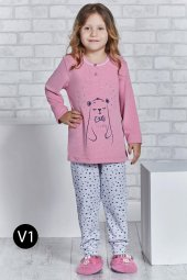 Roly Poly 2165 10 16 Yaş Garson Boy Kız Çocuk Pijama Takımı