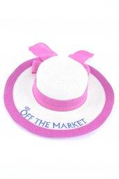 Off The Market Pembe Sloganlı Şapka